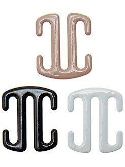 Accessoires lingerie - Lot de 3 attaches bretelles