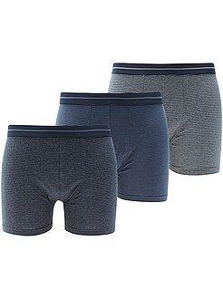 Sous-vêtements - Lot de 3 boxers longs