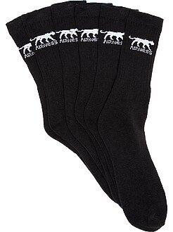 Chaussettes noir - Lot de 3 paire de chaussettes 'Airness'
