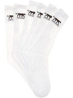 Chaussettes blanc - Lot de 3 paires de chaussettes 'Airness'