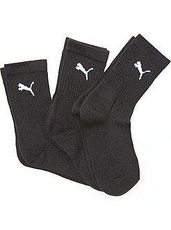 Chaussettes - Lot de 3 paires de chaussettes de sport 'Puma' - Kiabi