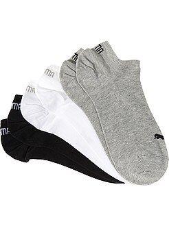 Chaussettes noir - Lot de 3 paires de socquettes 'Puma'