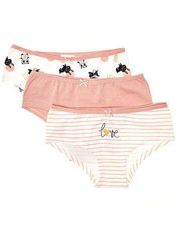 Lot de 3 shorties - Kiabi