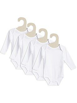 Lot de 4 bodies col US