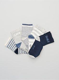 Garçon 10-18 ans Lot de 5 paires de chaussettes