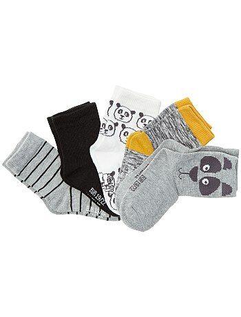 Lot de 5 paires de chaussettes - Kiabi
