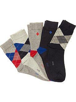 Chaussettes fantaisie - Lot de 5 paires de chaussettes
