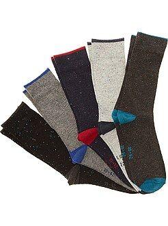Chaussettes classiques - Lot de 5 paires de chaussettes