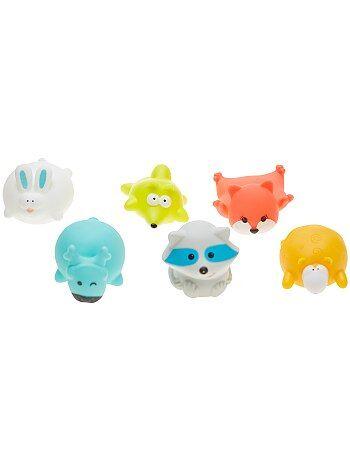 Lot de 6 jouets de bain 'Badabulle' - Kiabi