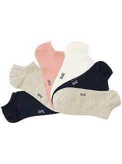 Collants, chaussettes - Lot de 6 paires de socquettes