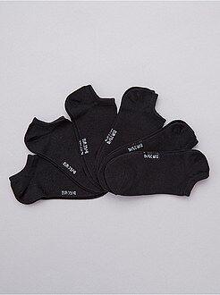 Lingerie du S au XXL Lot de 6 paires de socquettes