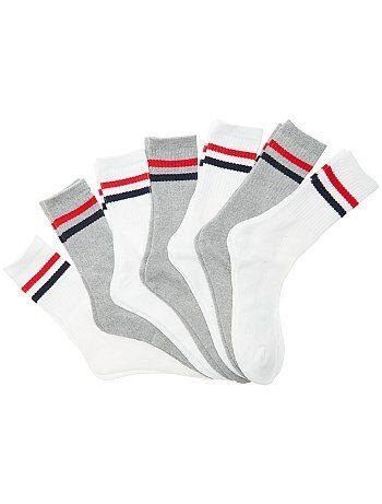 Lot de 7 paires de chaussettes de sport - Kiabi