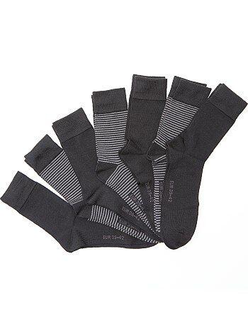 Lot de 7 paires de chaussettes - Kiabi