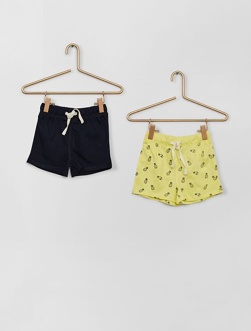 Lot de shorts                                                                 jaune