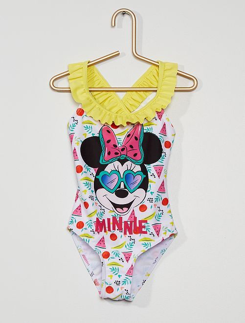 Maillot de bain 1 pièce 'Minnie' 'Disney'                             jaune