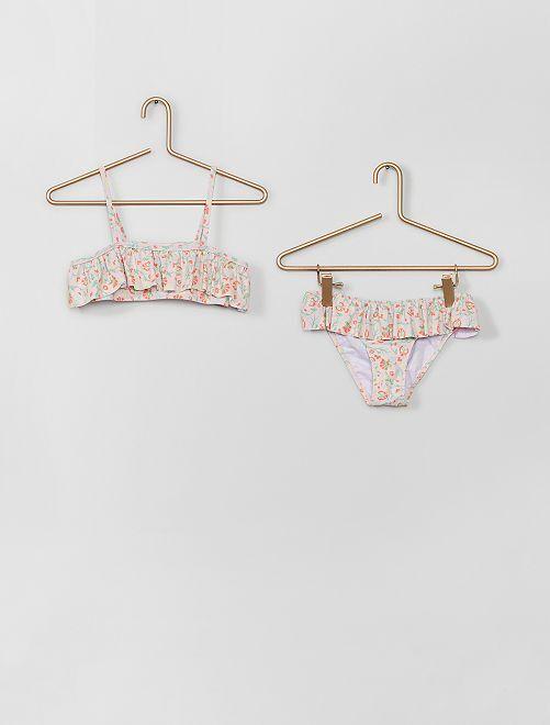 Maillot de bain 2 pièces                             rose