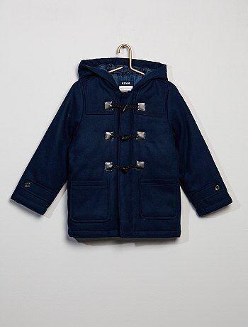 Manteau 'duffle-coat' à capuche - Kiabi