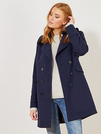 Manteau en lainage - Kiabi