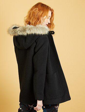Manteau femme capuche esprit