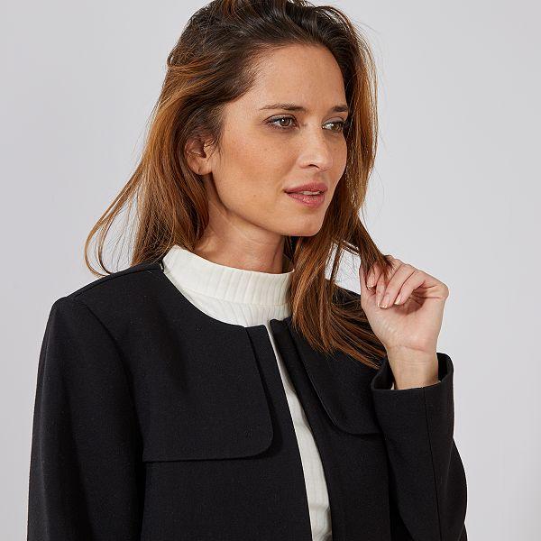 san francisco 337f1 48f8e manteau-habille-col-rond-noir-femme-wq098 4 fcf4.jpg