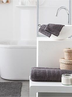 soldes linge de toilette pas cher et serviettes mode. Black Bedroom Furniture Sets. Home Design Ideas