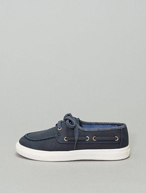 Mocassins bateau                             bleu navy
