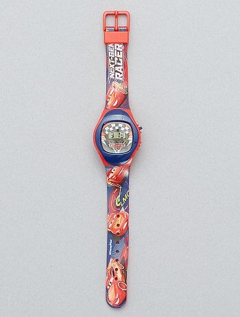 e4522075a88 Garçon 3-12 ans - Montre digitale  Flash McQueen   Cars  -