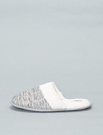 Chaussures - Mules fourrées - Kiabi