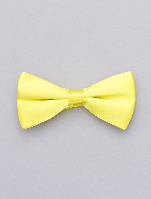 Noeud papillon fluo                                 jaune