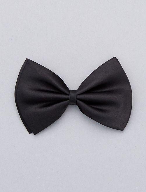 Noeud papillon uni                                                                             noir