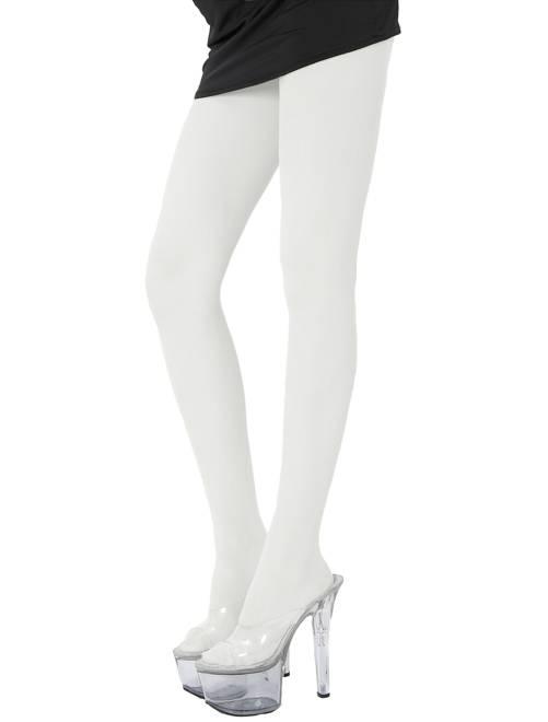 Paire de collants fluo 70D                                                                             blanc Femme