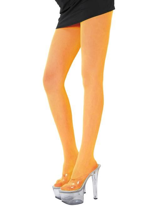 Paire de collants fluo 70D                                                                             orange