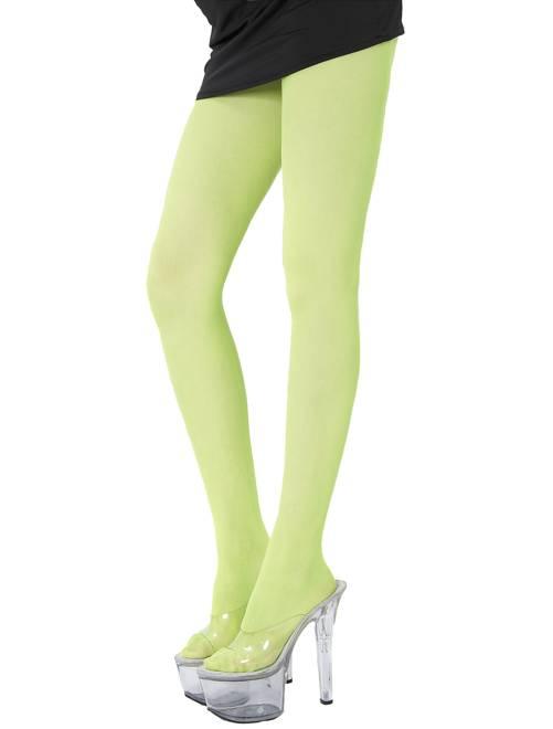 Paire de collants fluo 70D                                                                             vert Femme