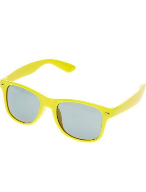 Paire de lunettes carrées                                                                                                      jaune Accessoires