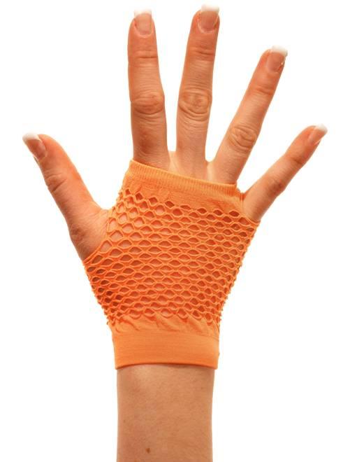 Paire de mitaines résille                                                                              orange Accessoires