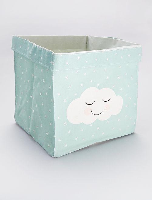 Panier de rangement 'nuage'                                                     vert