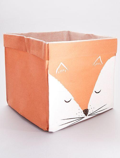 Panier de rangement 'renard'                                                     orange