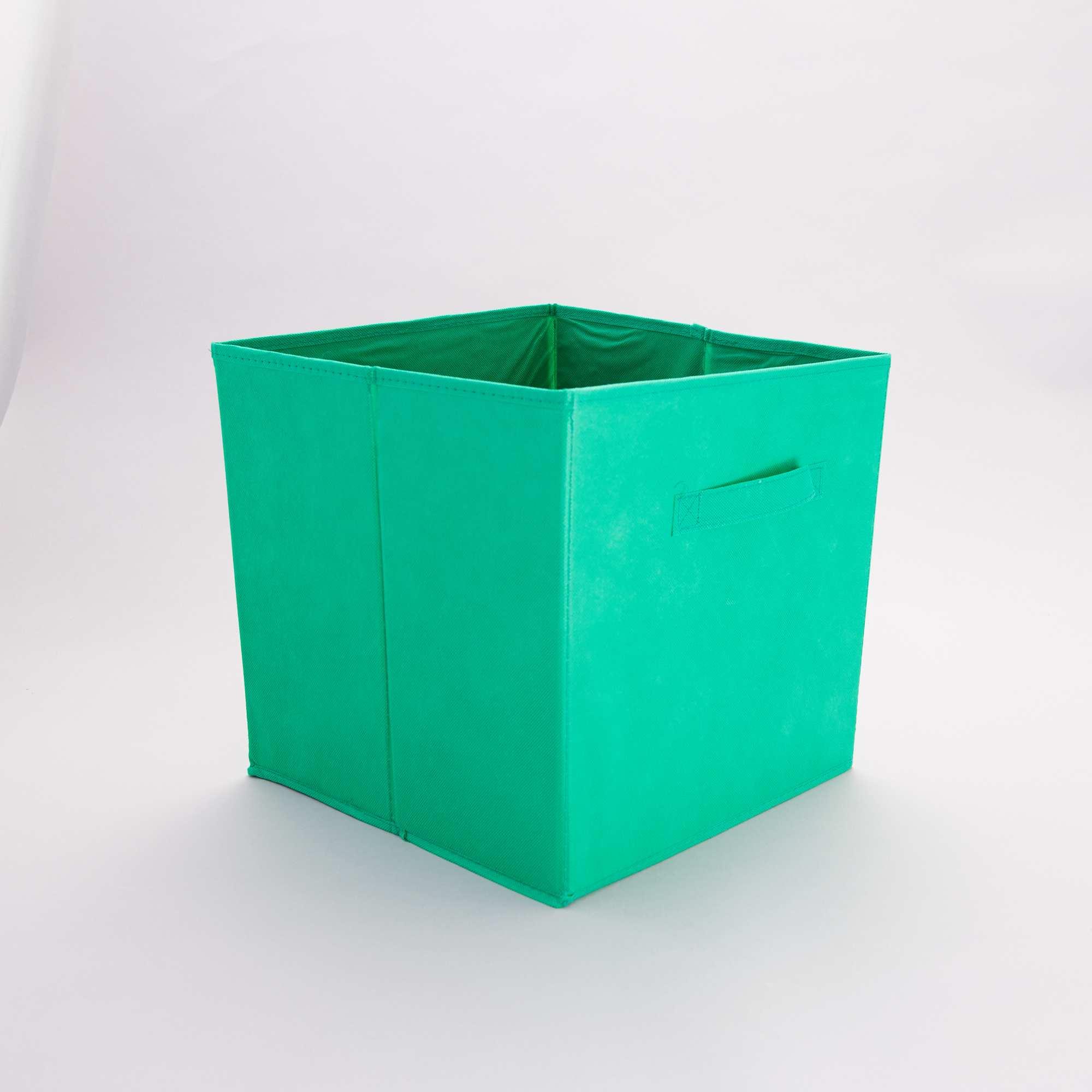 Accessoire Salle De Bain Vert Emeraude ~ panier pliable intiss linge de lit vert emeraude kiabi 4 00