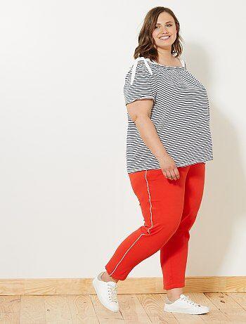 Pantalon à bandes latérales - Kiabi