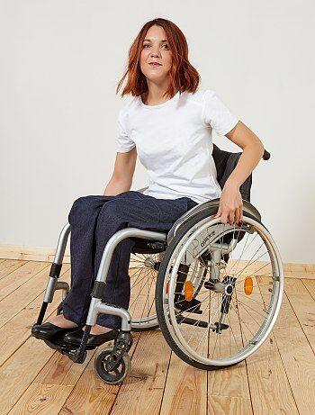 Femme du 34 au 48 - Pantalon adapté pour fauteuil 'A&K Classics' - Kiabi