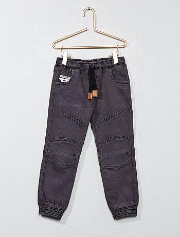 Pantalon avec taille élastiquée - Kiabi