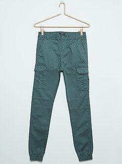 Pantalon - Pantalon battle coupe slim