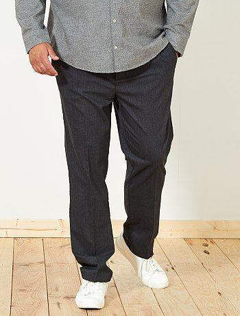 Pantalon chino fitted - Kiabi