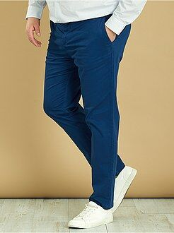 Grande taille homme - Pantalon chino fitted twill stretch - Kiabi