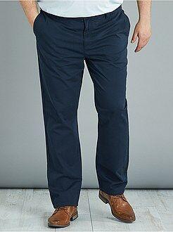 Pantalon - Pantalon chino regular en twill - Kiabi