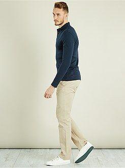 Pantalon - Pantalon chino regular L36 +1m90 - Kiabi