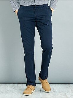 Pantalon - Pantalon chino regular L38 +1m90 - Kiabi