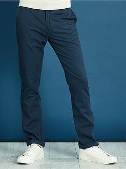 Pantalon chino regular twill