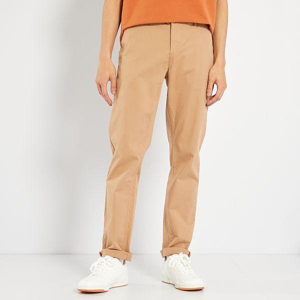 Pantalon chino slim Homme - Kiabi - 15,00