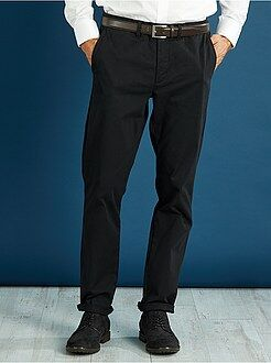 Pantalon chino - Pantalon chino slim twill stretch